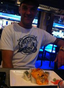 miam miam Arnaud a Bali...