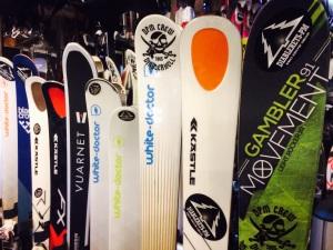 movements skis les DIABLERETS