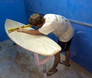 SKI ZU VERMITEN LES DIABLERETS WOOD SURFBOARDS
