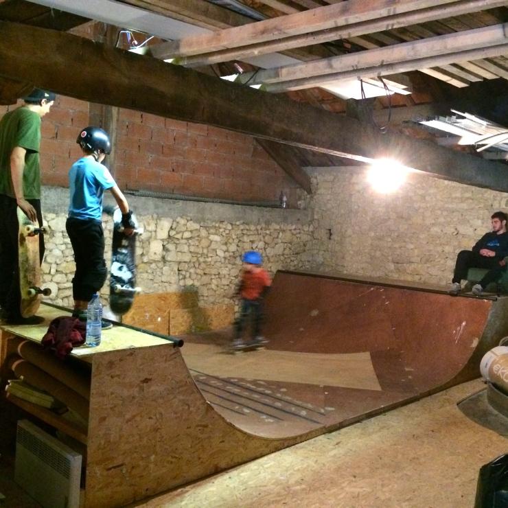 skateboarding les diablerets