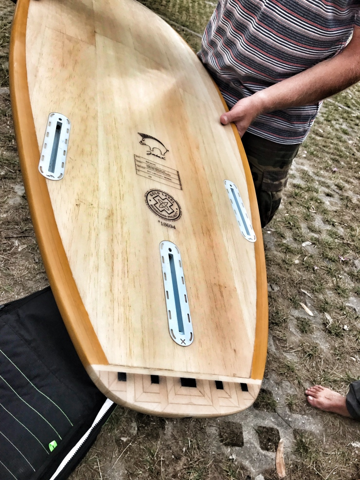 jabali wooden surf